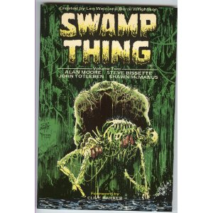 Swamp Thing - the thinking man's horror comics.