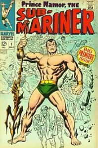 Prince Namor, cousin of Colonel Sanders.