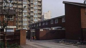 Brunswick council estate, Manchester.