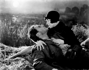 A still from Sunrise. Watching this Oscar-wining silent movie is an unforgettable experience.